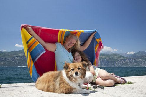 Am Gardasee lässt sich sehr gut ein Urlaub mit Hund verbringen.